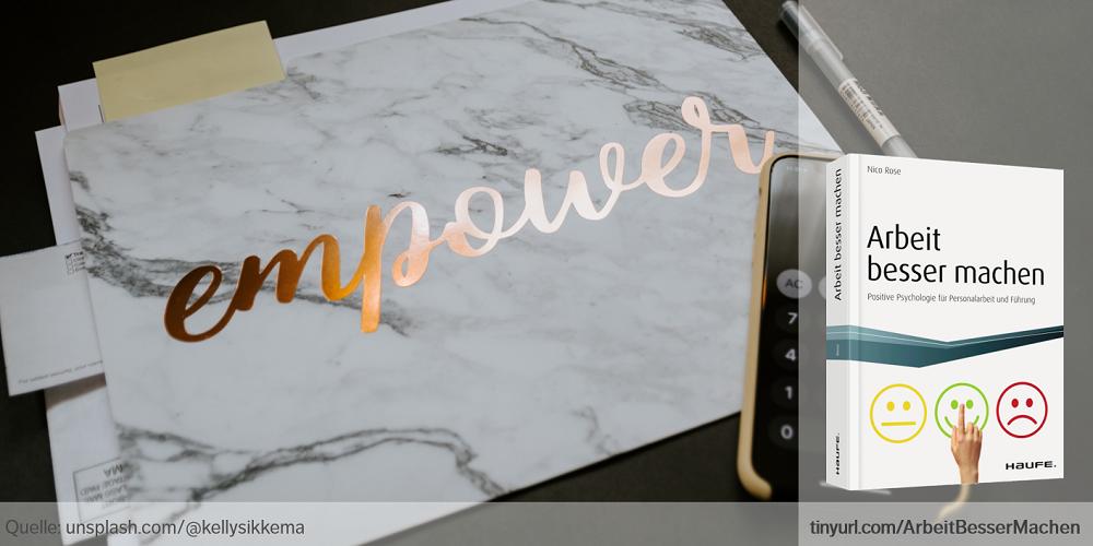 Nico Rose | Arbeit besser machen | Positive Psychologie