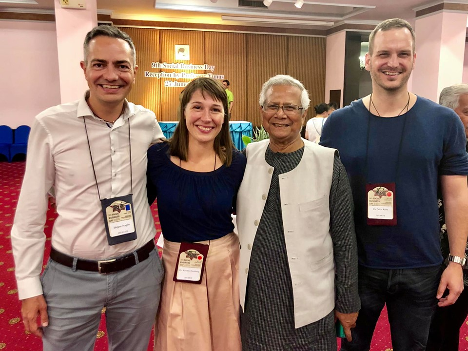 Nico Rose | Muhammad Yunus | Social Business Day 2019