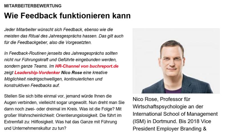 Nico Rose | Buchreport