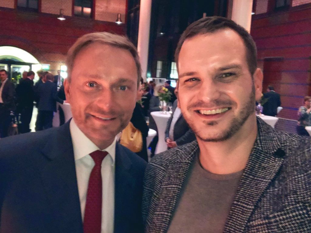Nico Rose | VIPs | Christian Lindner
