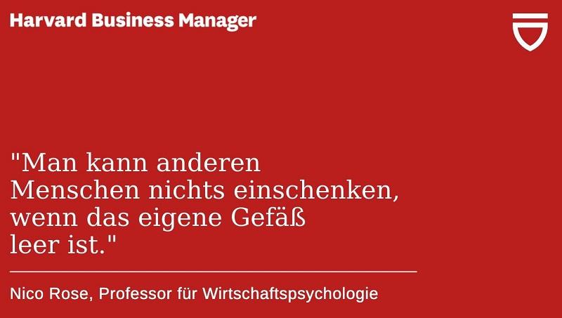 Nico Rose | Harvard Business Manager