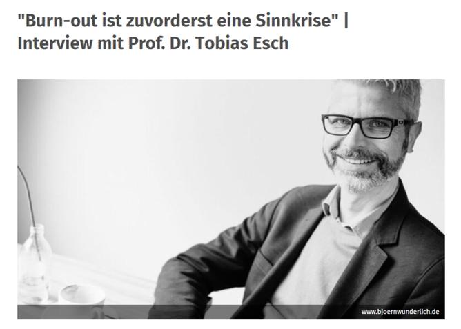 Tobias Esch | Interview | Nico Rose