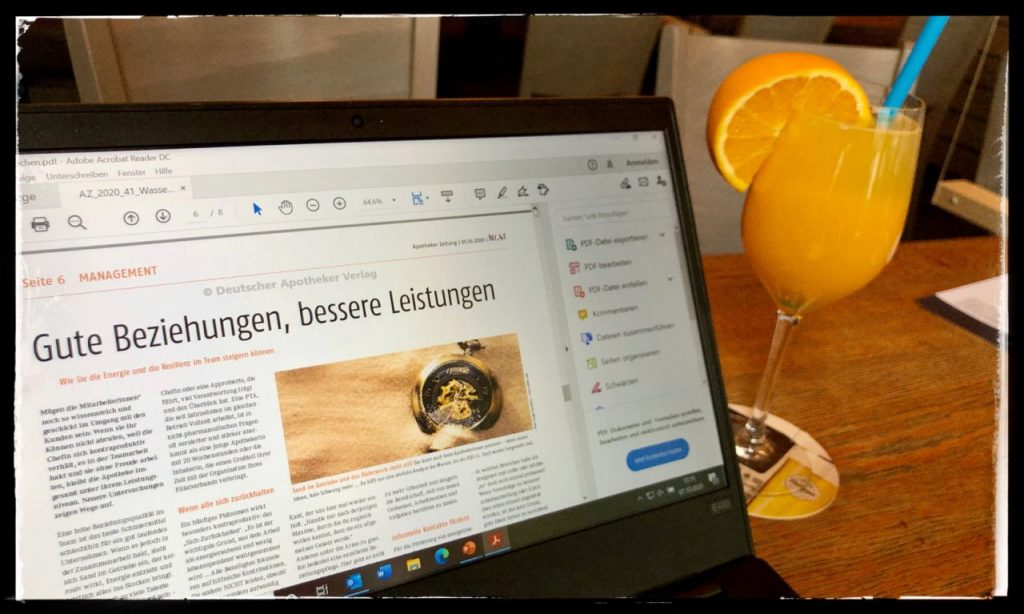 Nico Rose | Deutsche Apotheker Zeitung | Arbeit besser machen