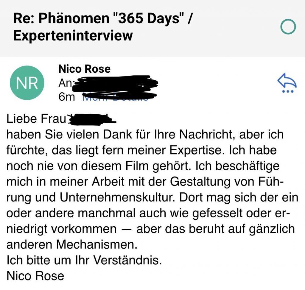 Nico Rose | 365 Tage