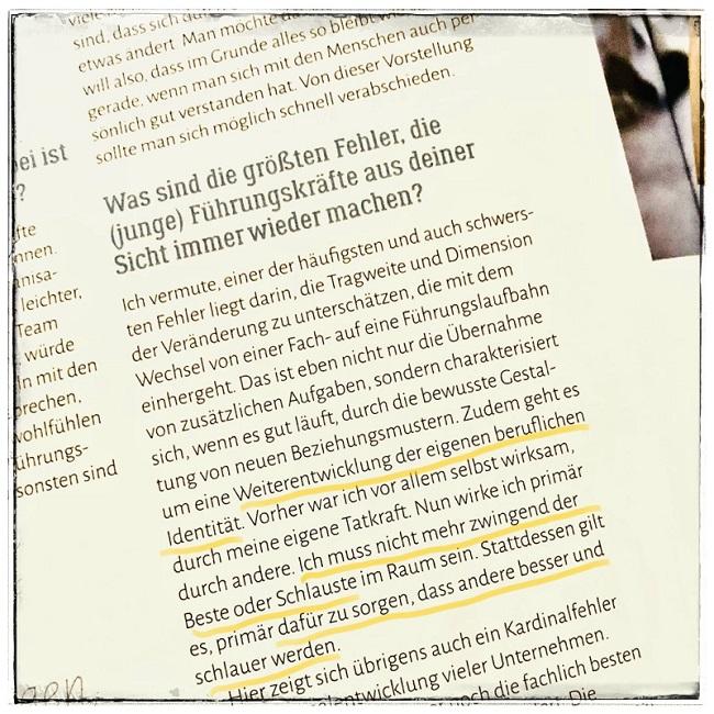 Interview | Führung | Staufenbiel