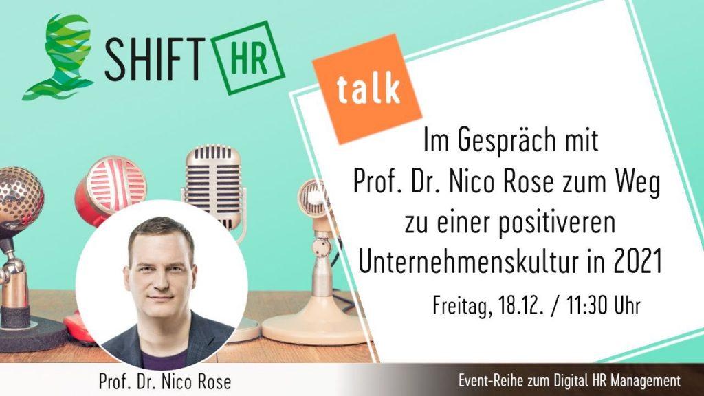 Nico Rose | Shift HR | Talk