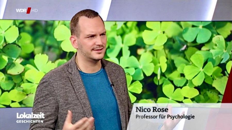 Nico Rose   WDR   Glücksforschung