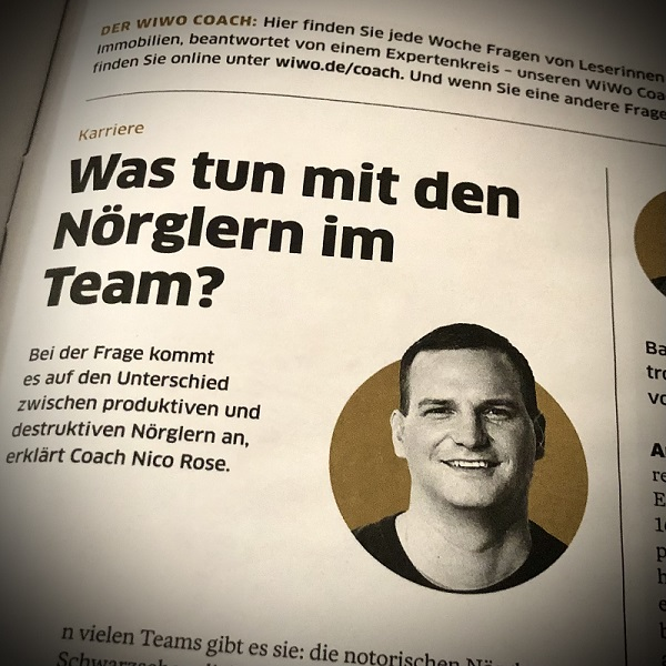 WiWo Coach   Nörgeln