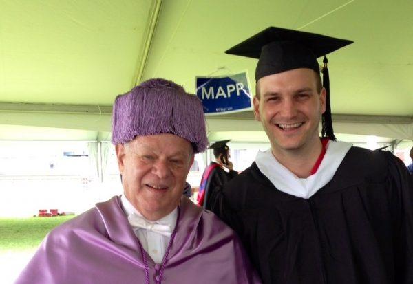 Nico Rose   Martin Seligman   MAPP Graduation 2014